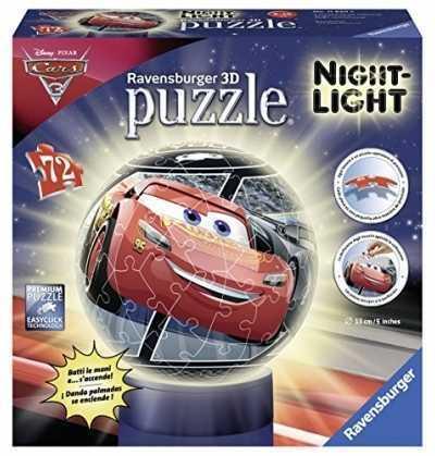 Cars 3 Lámpara Nocturna Puzzle 3D