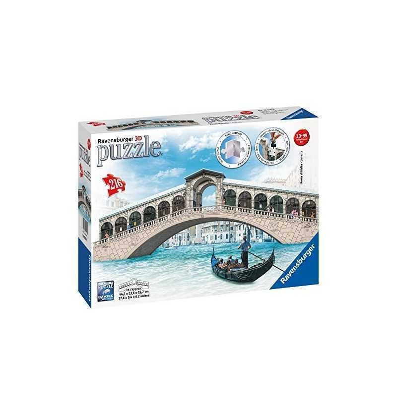 Puzzle 3D Puente de Rialto