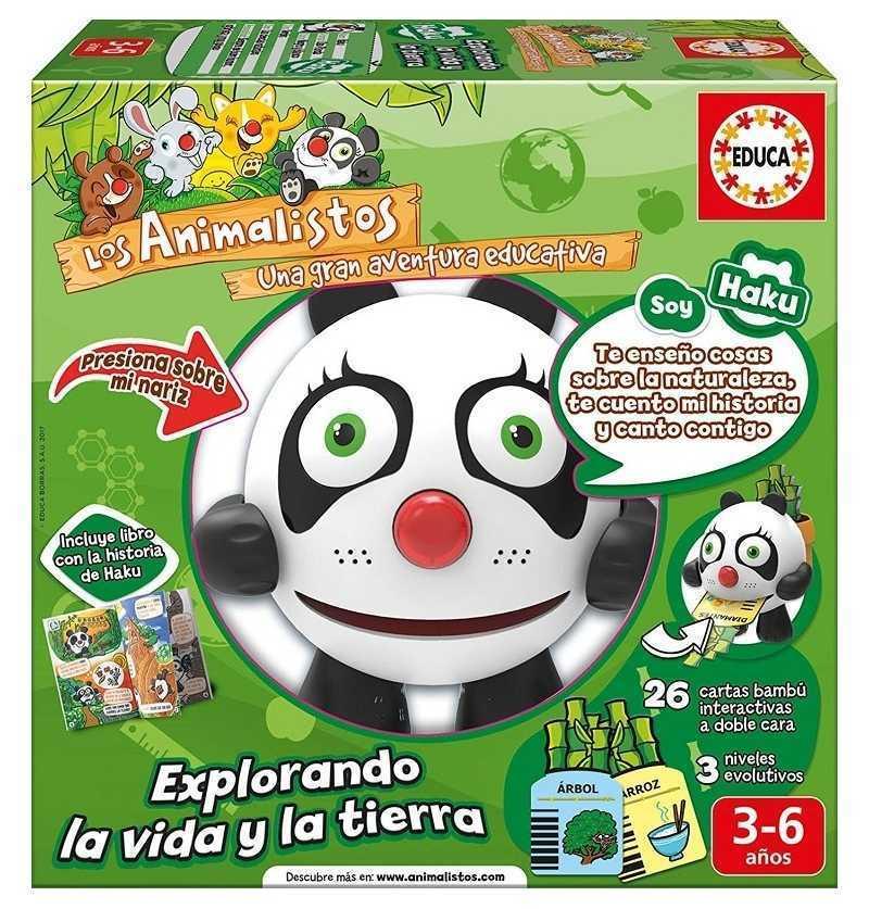 Comprar Juego Animalisto Haku El Oso Panda
