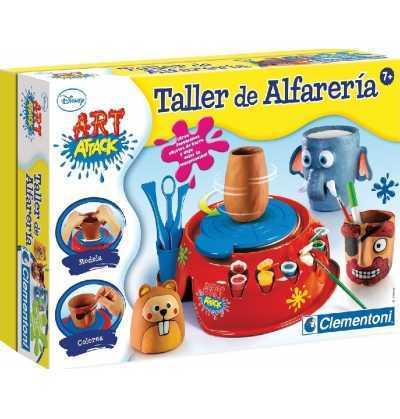 Art Attack Taller Alfareria  Torno