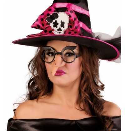 Nariz bruja con gafas  halloween
