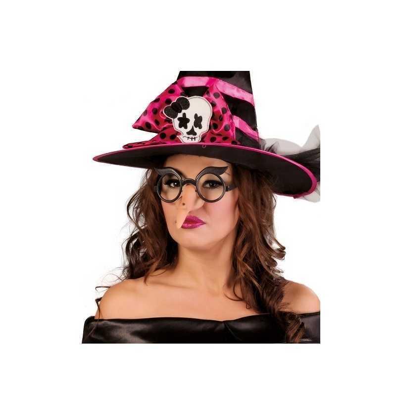 Comprar Nariz bruja con gafas Halloween