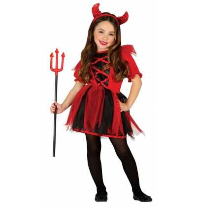 Disfraz Linda Diablesa Halloween Infantil