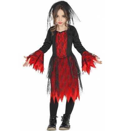 Disfraz Vampiresa Chica Gotica Halloween