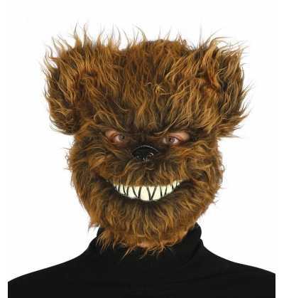 Careta Oso Maligno con Pelo Halloween