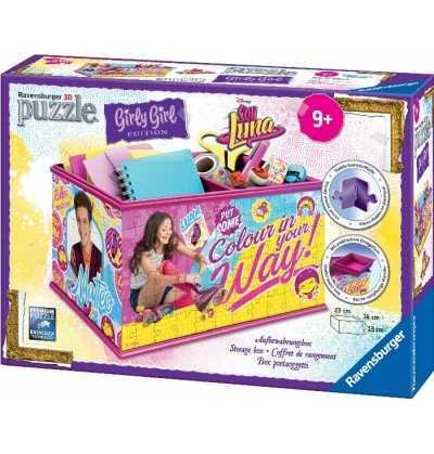 Girly Girl   Organizador Soy Luna 216 piezas puzzle 3d