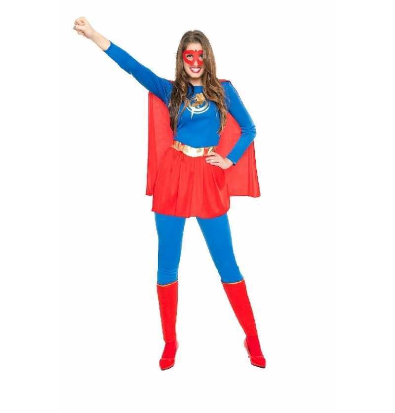 Disfraz Supergirl Heroina