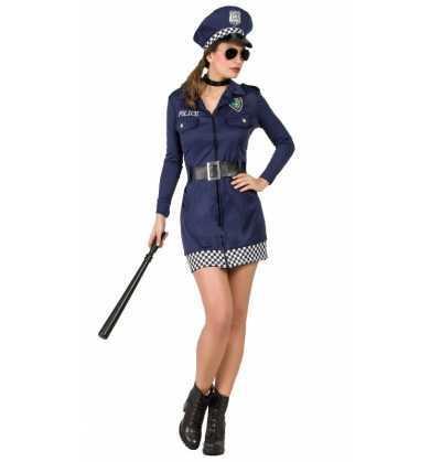 Disfraz Policia Mujer