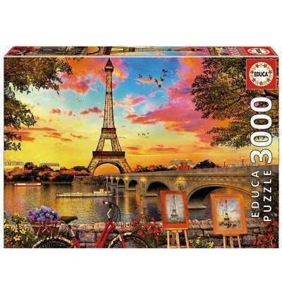 Puzzle 3000 Puesta de Sol en Paris