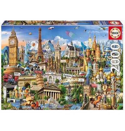 Puzzle 2000 Simbolos de Europa