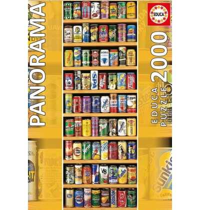 Puzzle 2000 Lata sobre Lata  Panoramico