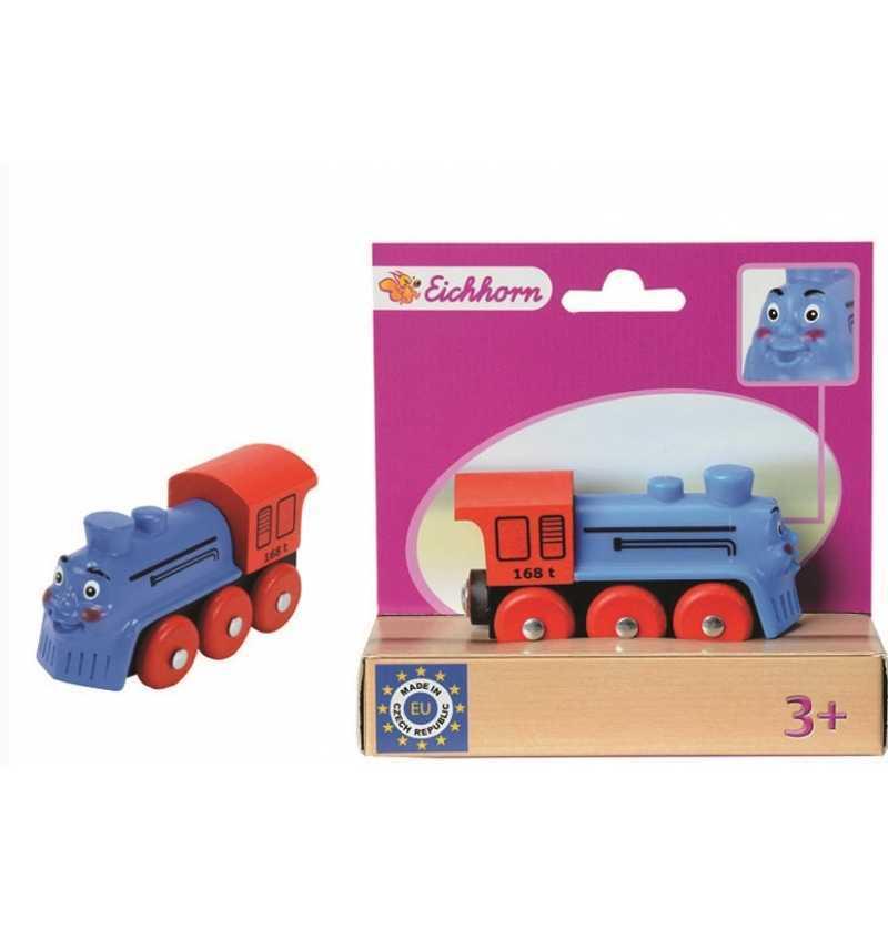 Comprar Tren Vias Locomotora cara Azul