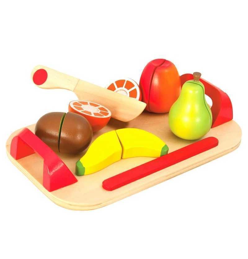 Comprar Tabla de Frutas de Madera Imitación Infantil