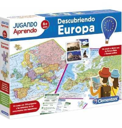 Mapa Geografico Descubre Europa