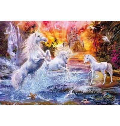 Puzzle 1500 Unicornios Salvajes