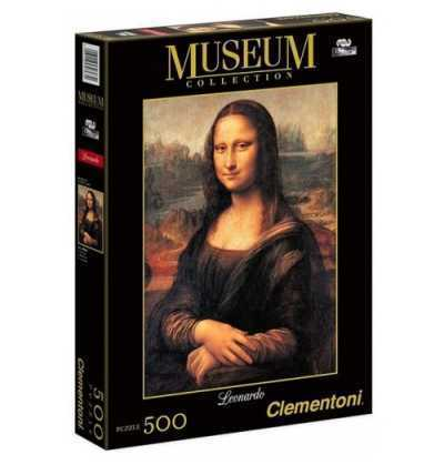 Puzzle 500 Museo Leonardo Gioconda