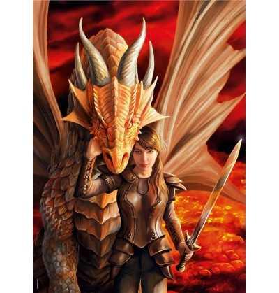 Puzzle 1000 Dragón  Anne Stokes