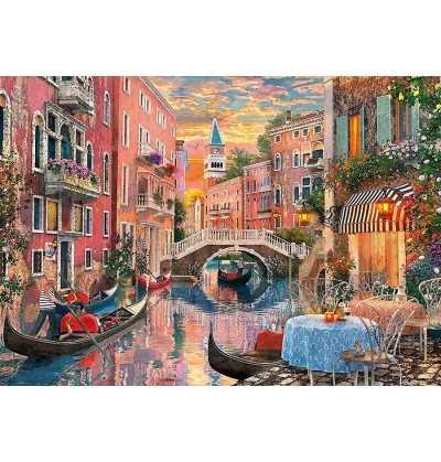 Puzzle 6000 Piezas Atardecer en Venecia