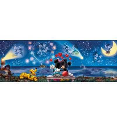 Puzzle 1000 Mickey y Minnie  Panoramico