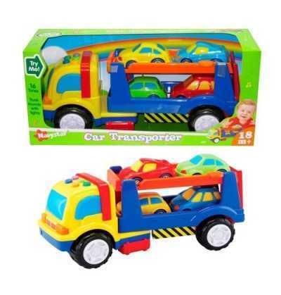 Camión Infantil Portacoches