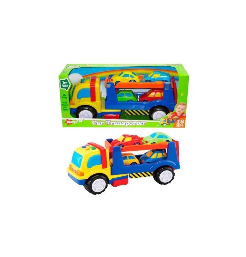 Comprar Camión Infantil Portacoches