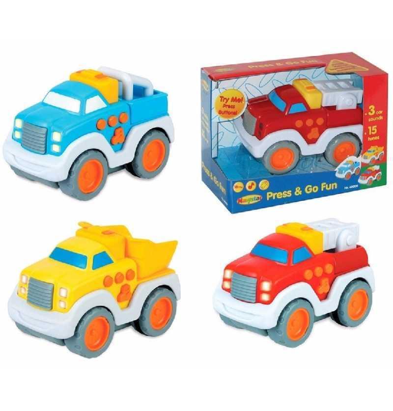 Vehículos Infantiles con 3 sonidos