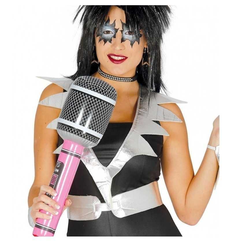 Comprar Microfono Hinchable Disfraces