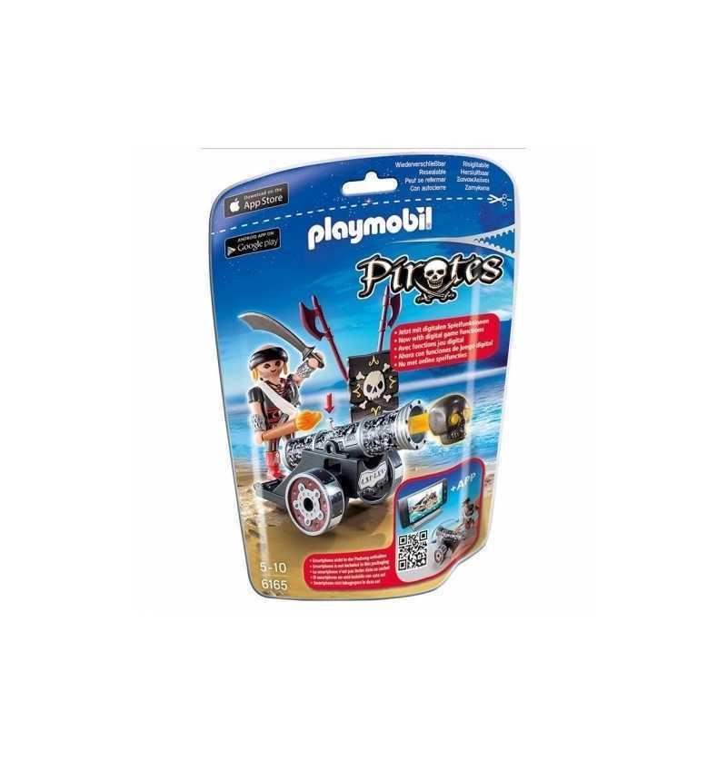 Playmobil Cañon Interactivo Negro