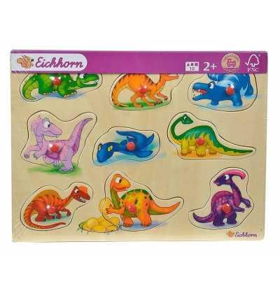 Comprar Encajables de Madera Dinosaurios