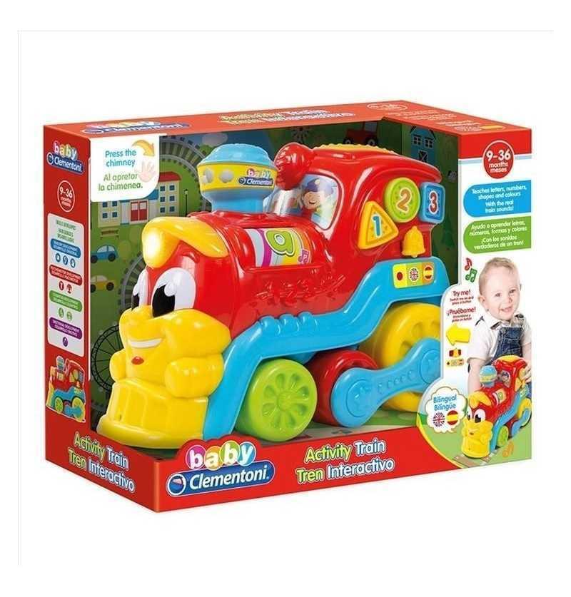 Comprar Tren Infantil Educativo 123