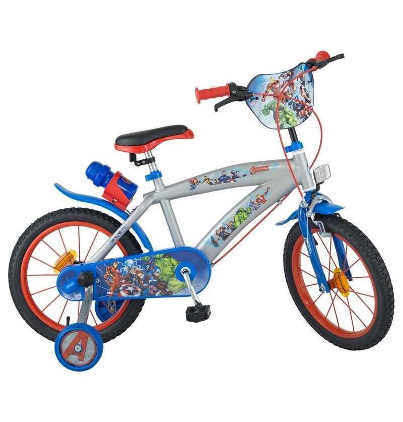 comprar Bicicleta infantil Los Vengadores Marvel con ruedines