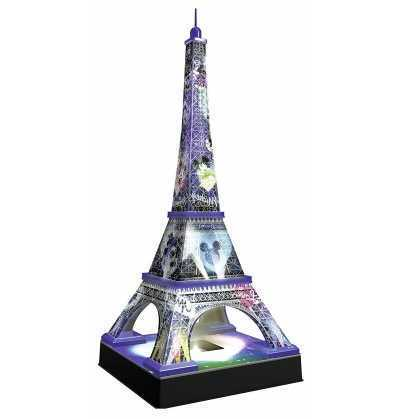 Puzzle 3D Torre Eiffel Disney Night Ed.