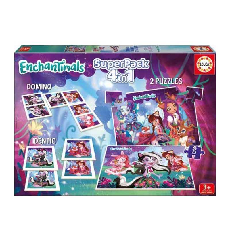 Comprar Juegos Educa Superpack Enchatimals
