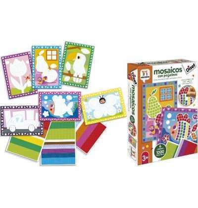 Mosaicos con Pegatinas