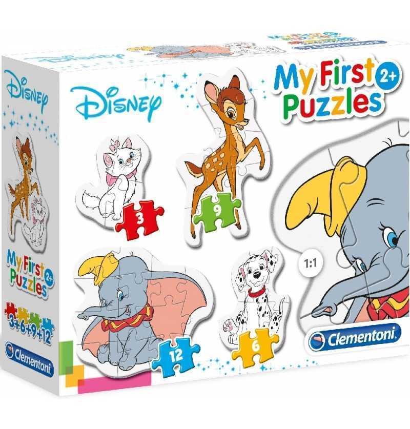 Puzzle Progresivo Dumbo Dalmata Bamby Leon