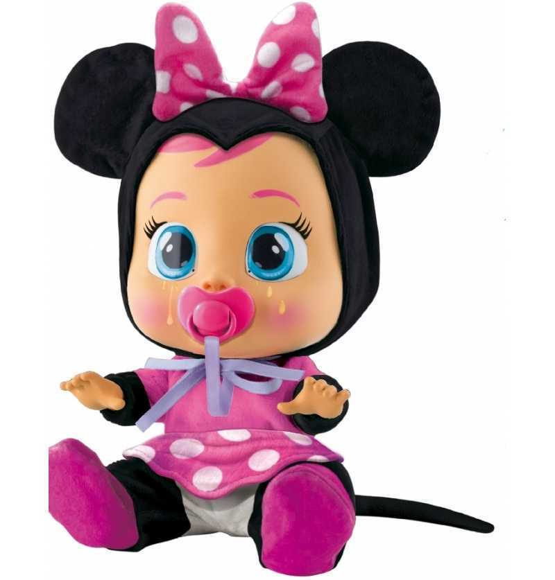 Comprar Muñeca Bebe Llorón Minnie Disney rosa