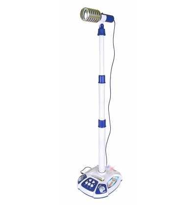 Comprar Micrófono Musical con conexión Mp3 Infantil azul
