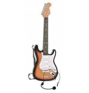 Comprar Guitarra Electrica Infantil marrón-blanco