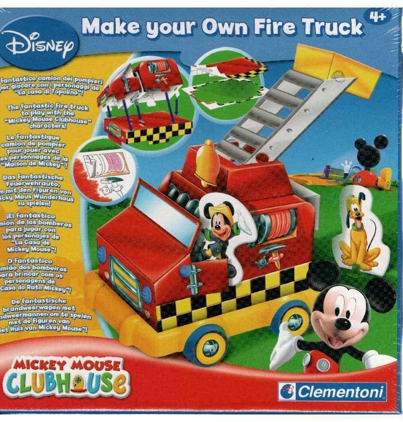 Camión Bomberos Casa Mickey