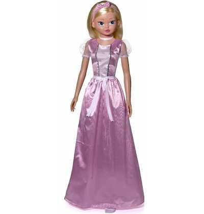 Comprar Muñeca de 100 cm. Princesa de Cuento Rosa Bella