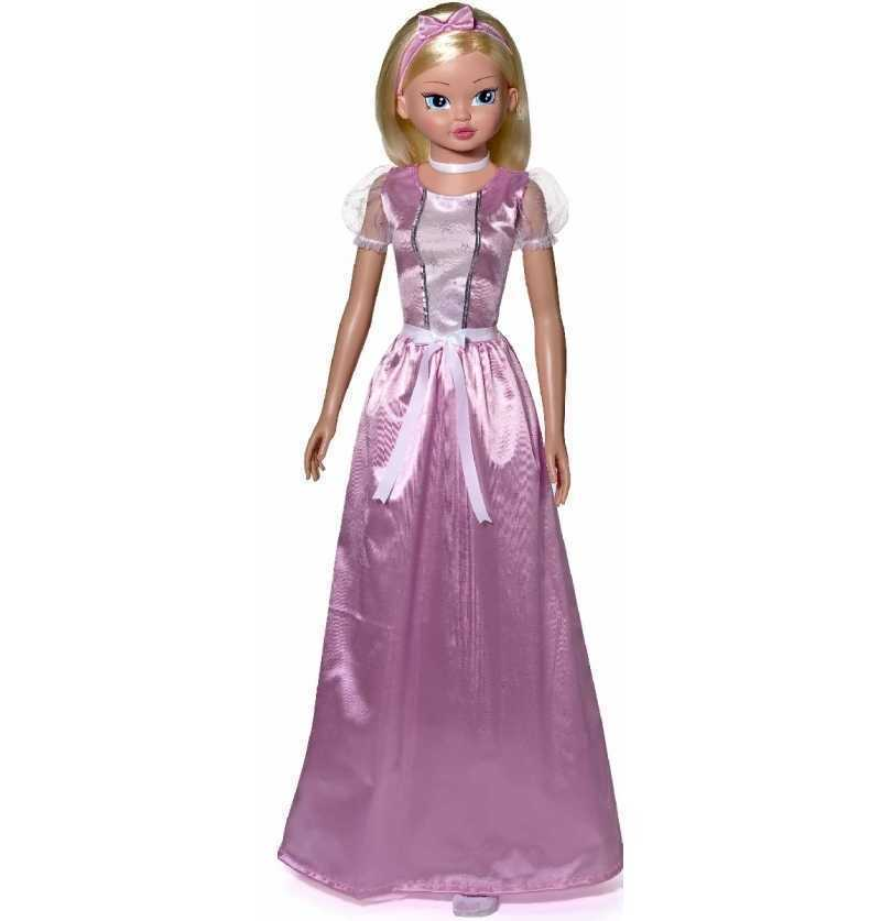 Muñeca de 100 cm. Princesa de Cuento Rosa