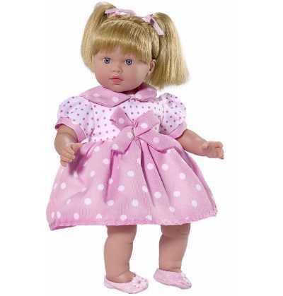 Muñeca Lara con Vestido Lunares