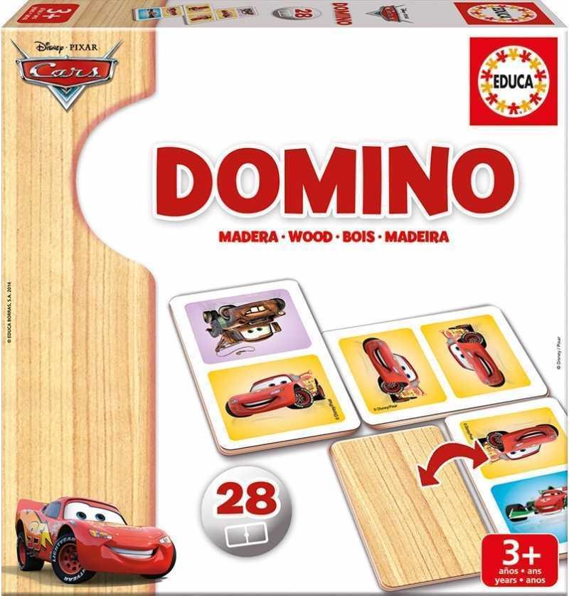 Comprar Juego Domino Cars 28 Piezas Madera