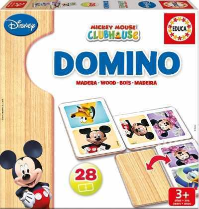 Domino Mickey Minnie Madera