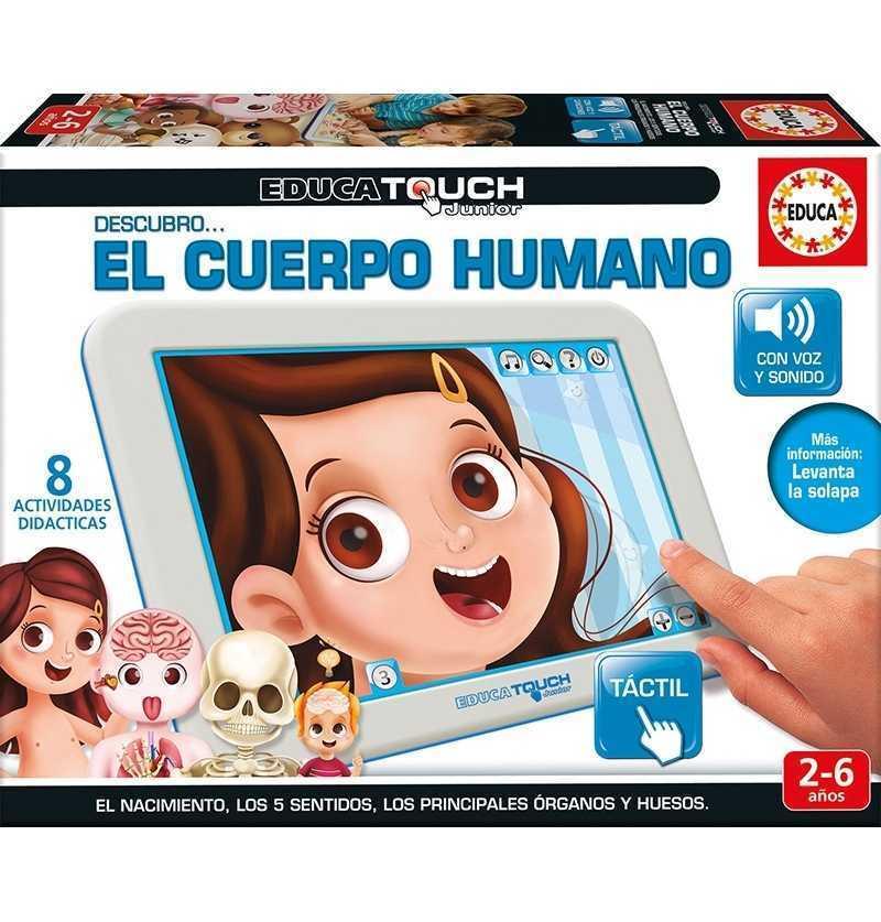 Educa Touch Jr. Cuerpo Humano