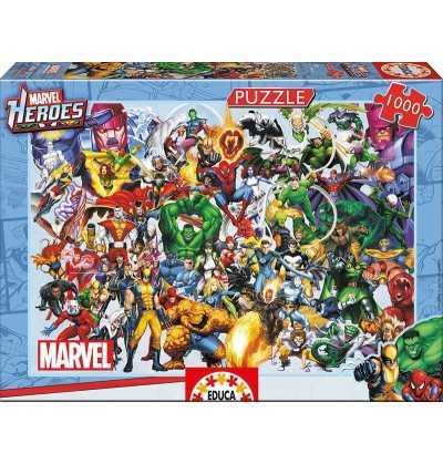 Puzzle 1000  Heroes de Marvel