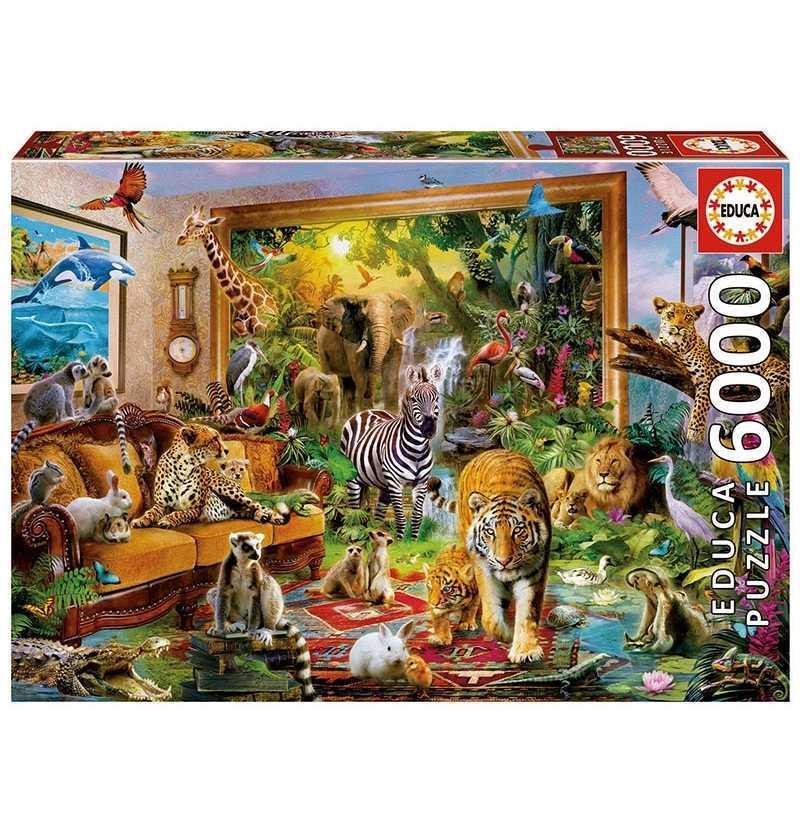 Comprar Puzzle 6000 piezas Entrando en la Habitación