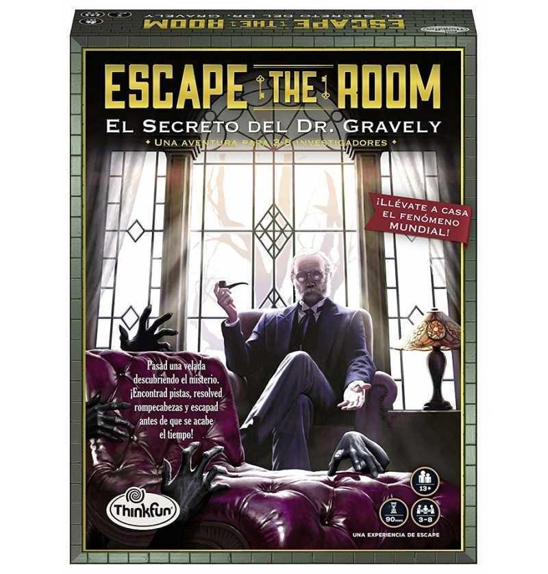 Comprar Juego de Mesa Escape The Room El Secreto del Doctor. Gravely