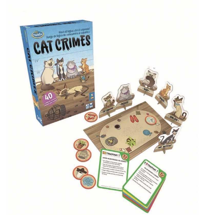 Comprar Juego de Mesa Cat Crimes Castellano
