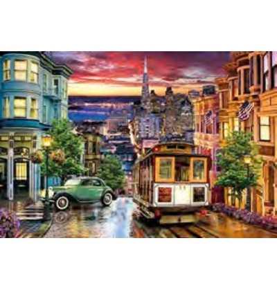 Comprar Puzle 3000 piezas, Calles de la ciudad de San Francisco Estados Unidos